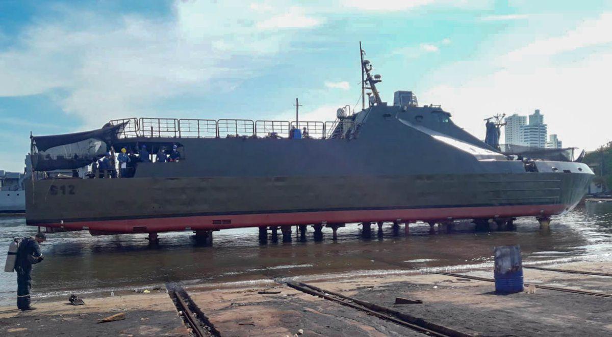 """La PAF-P ARC """"Jorge Moreno Salazar"""" de la Armada Colombiana culmina su mantenimiento mayor"""
