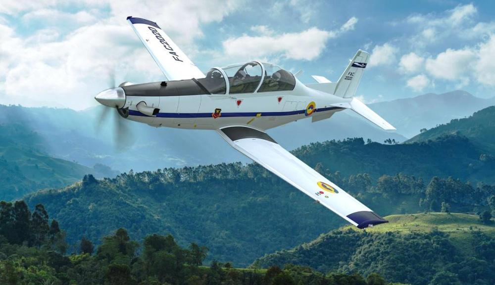Fuerza Aérea Colombiana anuncia adquisición de aviones Texan T-6C