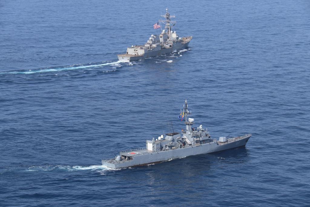 Armadas de Colombia y Estados Unidos, celebran el ejercicio naval Passex 2021