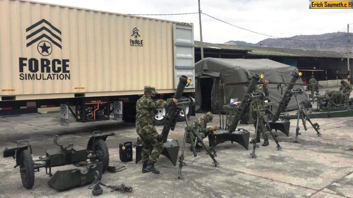 Colombia adquiere un nuevo simulador de artillería