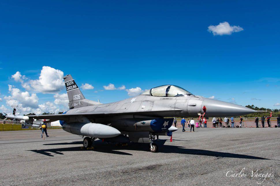 Podcast sobre el F-16 para Colombia, muy pronto