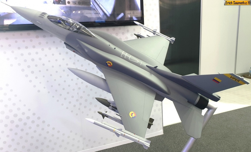 Colombia y Lockheed Martin se reunirán el 17 de noviembre para hablar del F-16
